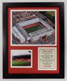 Liverpool F.C. - Anfield Framed 12''x15'' Double Matted Photos - Legends Never Die, Inc.
