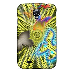 Defender Case For Galaxy S4, Vector Butterfly Pattern