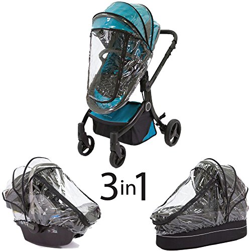 Graco Stroller Cover (guzzie+Guss 3-in-1 Raincover)
