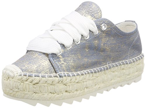 Oro Replay platin Donna Espadrillas Mieka TqZzwxTOS