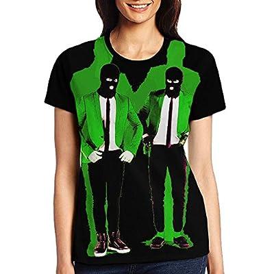 WANGGUANN Unisex Cotton Printing CasualPattern Twenty-One-Pilots Shirt