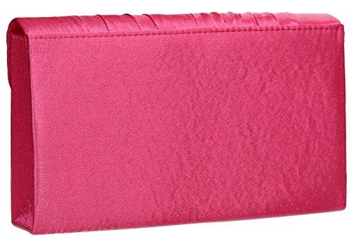 SwankySwans, Poschette giorno donna rosa Rose Taglia unica