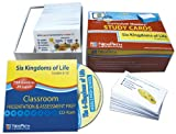 NewPath Learning Six Kingdoms of Life Study Card, Grade 5-9