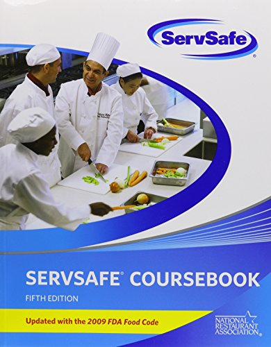 FoodSafetyPrep powered by ServSafe (Access Card) with ServSafe CourseBook with Online Exam Voucher 5th Edition, Updated with 2009 FDA Food Code (5th Edition)