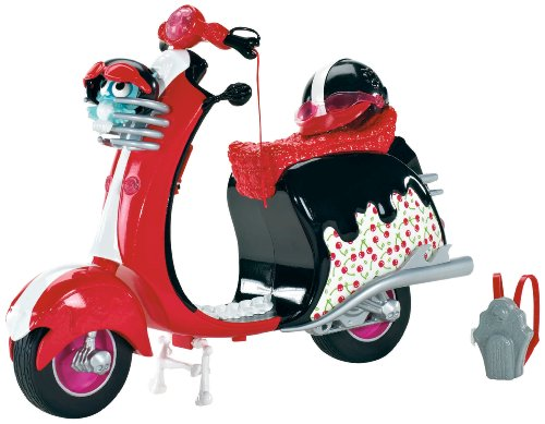Monster High Ghoulia Yelps Scooter Vehicle (Monster High Scooter)