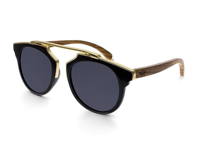 Gafas de sol MOSCA NEGRA ® modelo MIX GOLD Black - Polarized ...