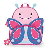 Skip Hop Zoo Pack Little Kid & Toddler Backpack, Blossom Butterfly