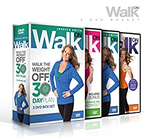 Walk On: Walk the Weight Off 30 Day Plan (Low Impact High Results Program) [3 DVD Set]