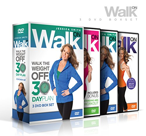 Walk On: Walk the Weight Off 30 Day Plan (Low Impact High Results Program) [3 DVD Set] (Dvd New Releases Movie)