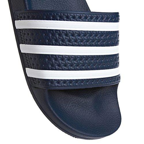 adidas Unisex-Erwachsene Adilette Dusch-& Badeschuhe Blu (Navy/White)
