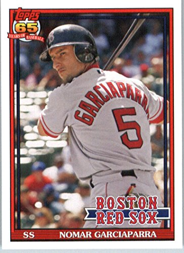 2016 Topps Archives #288 Nomar Garciaparra Boston Red Sox Baseball (Nomar Garciaparra Red Sox)