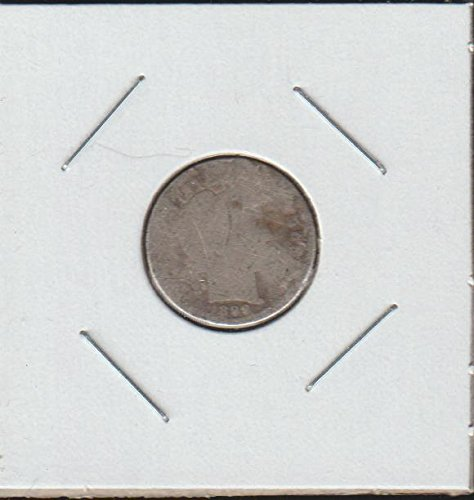 1899 Barber Dime (1899 Barber or Liberty Head (1892-1916) Dime About Good)