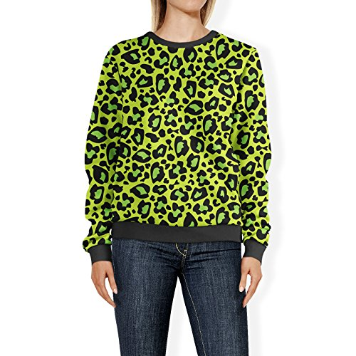 Queen of Cases - Sweat-shirt - Manches Longues - Femme vert Green taille unique