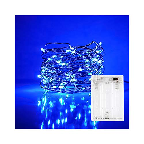 ANJAYLIA 10Ft/3M 30leds Light String Festival Decoration Wire String Light Battery operated on