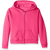 Hanes Big Girls' ComfortSoft Ecosmart Full-Zip Fleece Hoodie
