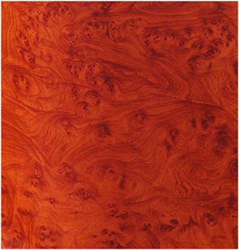 Honey Burlwood Wood Grain Film Vinyl Sheet Roll Wrap 48
