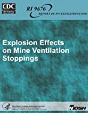 Explosion Effects on Mine Ventilation Stoppings, Department of Human Services and Centers for and Prevention, 1493566156