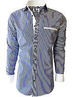 Mens Dress Shirt - Custom Sizing, Slim Fit