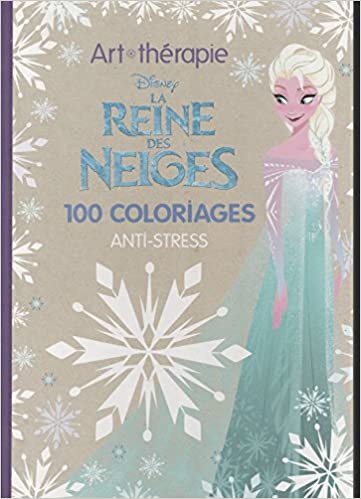 coloriage anti stress la reine des neiges