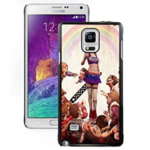 Fashion DIY Custom Designed Samsung Galaxy Note 4 Phone Case For Lollipop Chainsaw Phone Case Cover