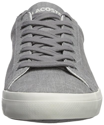 best place Lacoste Men's Lerond Sneaker Grey Canvas visa payment online sale cheap prices visa payment cheap online shopping online cheap online sj5h4