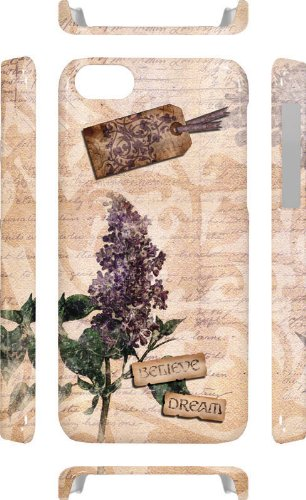 French Romantic Shabby Chic iPhone 5/5s inkFusion Lite Case