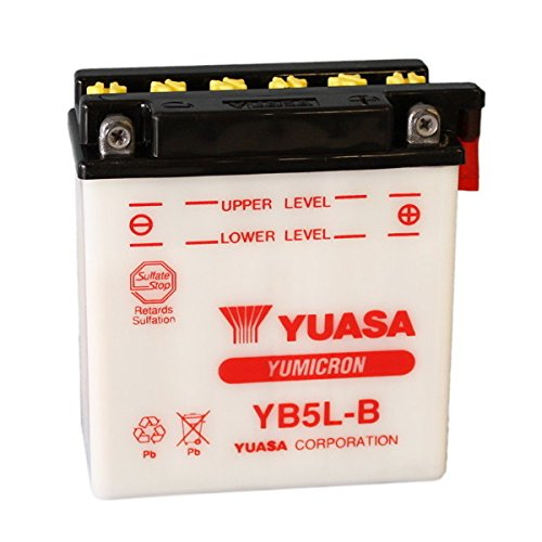 BATTERIA YUASA YB5L-B PER MALAGUTI Ciak 100 1999 12V 5 Ah