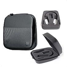 24.5*21*10cm General Carrying Large Size Standard Edition Headphones Case Earphone Bag Headphone Box Bag case for Senheiser HD598 HD600 HD650 RS180/RS170/HD700 AKG K812/K712 PRO/K612 Beats Pro Solo Mixr SONY v700dj 7509 hd 7506 z700 v730