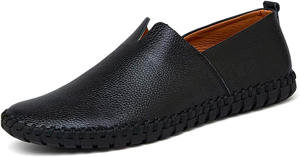 Industry No. 1 Femaroly Men's Casual Over item handling Breathable Leather Oxford Loafers Dr Shoes