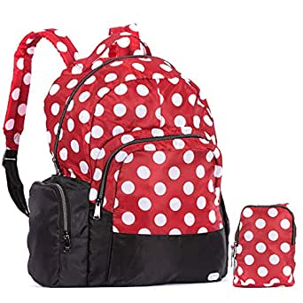Lug womens Echo Packable, Crimson, Lg Dot Red Size: One Size