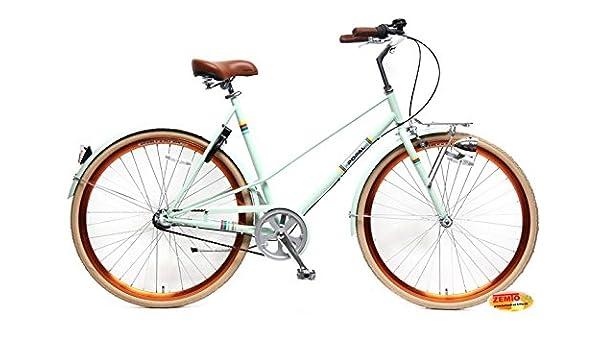 Bicicleta holandesa para mujer 28 pulgadas Capri turquesa 57 cm ...