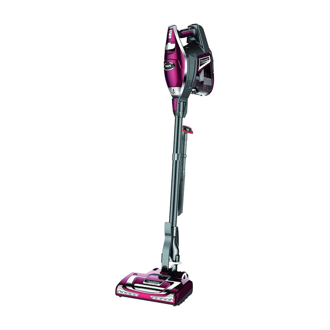 Shark Rocket DeluxePro Ultra-Light Upright Corded Stick Vacuum, Bordeaux (Renewed)