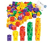 Bargain World Counting Cubes (With Sticky Notes)