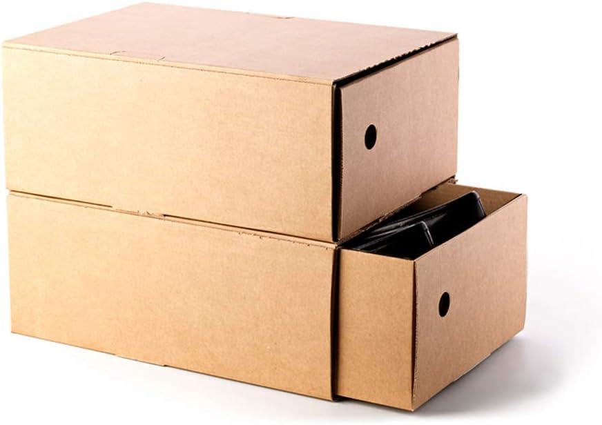 Kartox   Organizadora de Zapatos   Zapateros   Caja de Cartón para Guardar Zapatos   33.3x22.2x13.5   6 Unidades: Amazon.es: Oficina y papelería