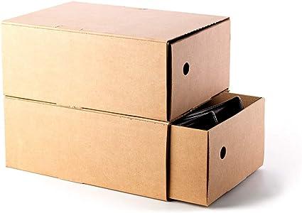 Kartox | Organizadora de Zapatos | Zapateros | Caja de Cartón para Guardar Zapatos | 33.3x22.2x13.5 | 6 Unidades: Amazon.es: Oficina y papelería