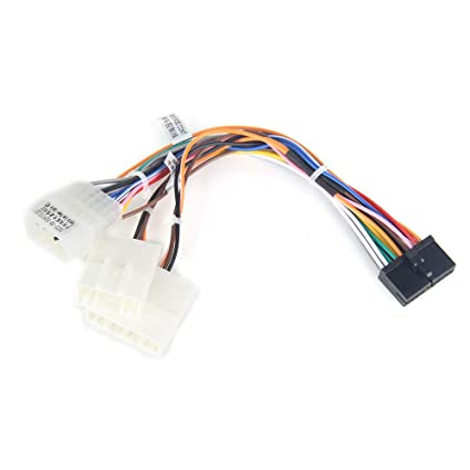 amazon com dasaita car stereo wiring harness cable fit dasaita cardasaita car stereo wiring harness cable fit dasaita car radio head unit,dyx004 radio wire