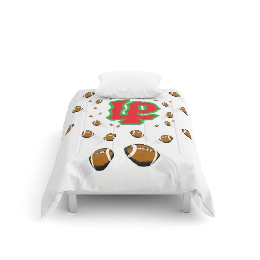 Society6 LaSalle Peru High School Football Comforters Twin XL: 68'' x 92''