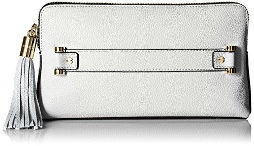 MILLY Astor Clutch, White