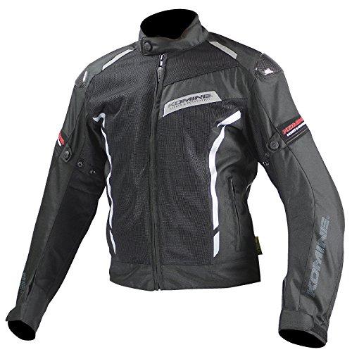[해외] 코미네(Komine) 오토바이 재킷 카본 프로텍트 메쉬 재킷 블랙 L 07-103 JK-103
