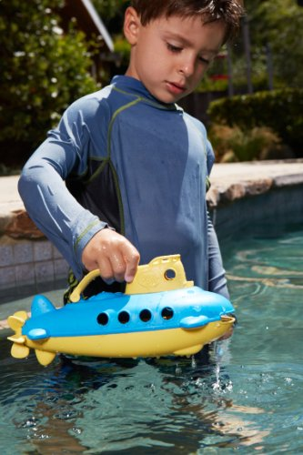 Green Toys Submarine, Yellow