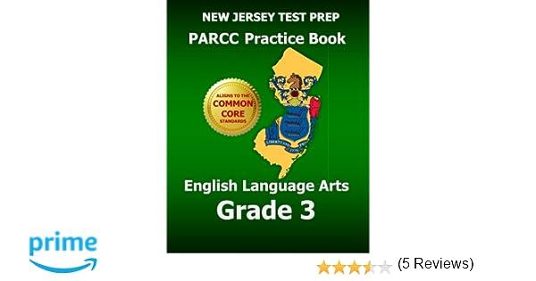 Amazon.com: NEW JERSEY TEST PREP PARCC Practice Book English ...