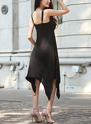 Futurino - Vestido - para mujer negro
