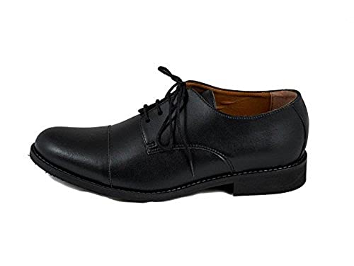 01f4147251c928 NAE Mens New BCN Dress Vegan Oxford (13) Black