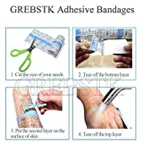 Waterproof Adhesive Bandages Transparent Stretch