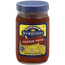 Bookbinder's Cocktail Sauce 9.0 Oz(Pack of 6) by Bookbinder's