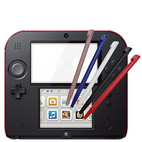 YTTL 5 Pcs Stylish Color Touch Stylus Pens Touchpen set for Nintendo 2DS from YTTL