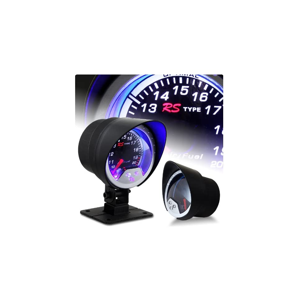 52mm Air Fuel Ratio LED Gauge with Sound Active Lighting