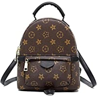 Olyphy Designer Mini Leather Backpack Purse for Women, Fashion Small Shoulder Purse Handbag