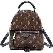 Olyphy Designer Little Leather Backpack Purse for Women, Fashion Small Shoulder Purse Handbag