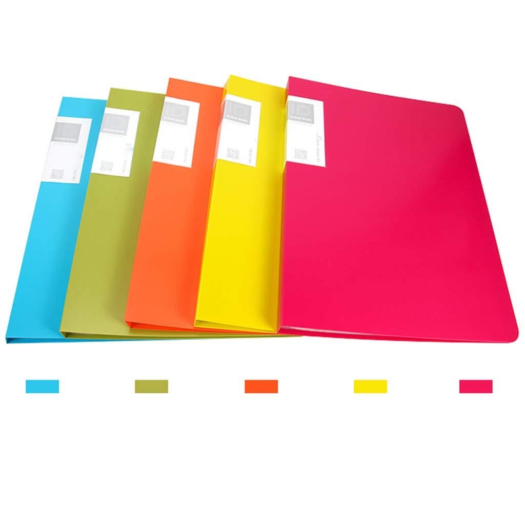 Folder Informationsbroschüre Informationsbroschüre Informationsbroschüre PP-Material Einfaches und stilvolles Blau Grün Orange Rosa Gelb (Farbe   E) B07Q71S2FZ | Um Eine Hohe Bewunderung Gewinnen Und Ist Weit Verbreitet Trusted In-und   49bce8